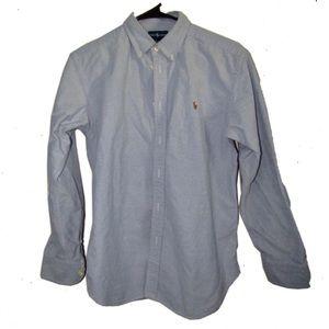 Boys long sleeve Polo dress shirt